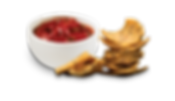 Indulge Corn Chips with Salsa