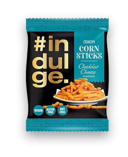 Indulge Crunchy Corn Sticks-cheddar-Kamr