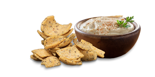 Indulge Corn Chips and Houmous