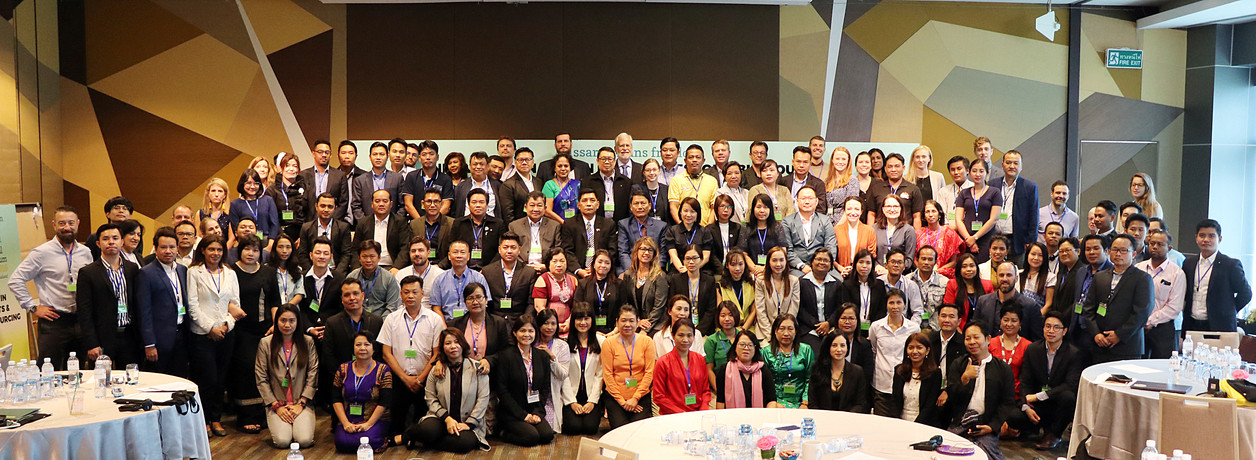 Another full house at the 2019 Issara Global Forum in Bangkok, with business, workers, government, civil society, and academia in active participation