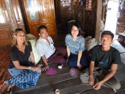 Client follow-up in rural Myanmar