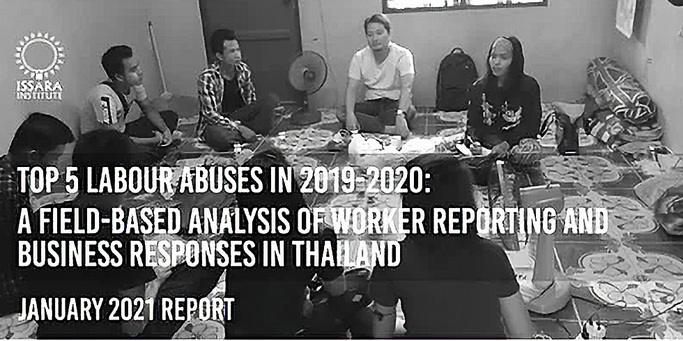 Top 5 labour abuses encountered in 2019-2020: A field-based analysis of worker reporting and business responses