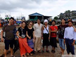 Client follow-up in Myanmar