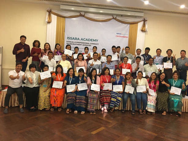 Issara Academy trainings in Myanmar on recruitment agency professionalization get rave reviews from agencies