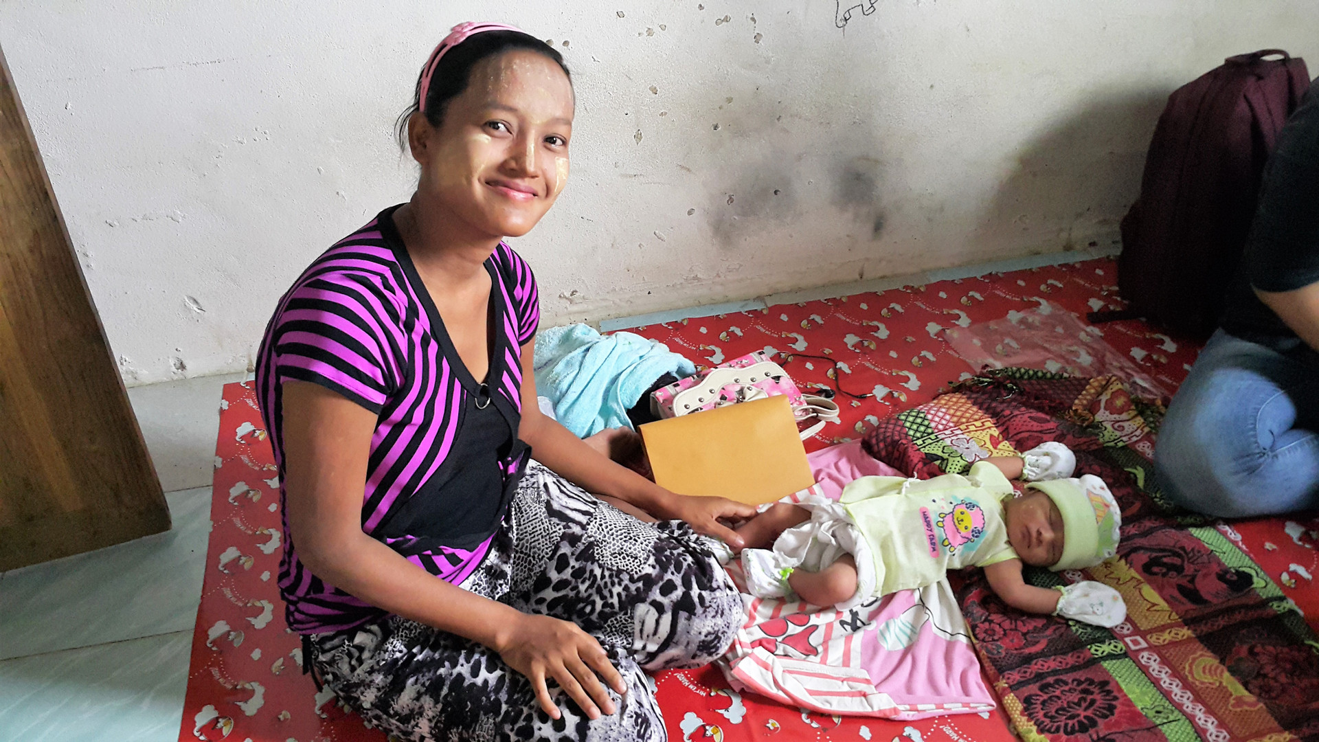 Working closely with women workers and their families helps us understand what more needs to be done to improve the lives and work of new moms