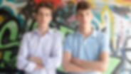 Matteo e Lorenzo Zelari, cugni imprenditori con il marchio Frog tuscany
