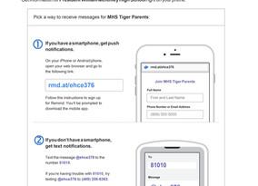 Remind Invite - MHS Tiger Parents Communication