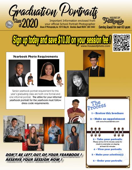 Senior Class of 2020 Portraits
