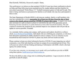KMR Parent Letter