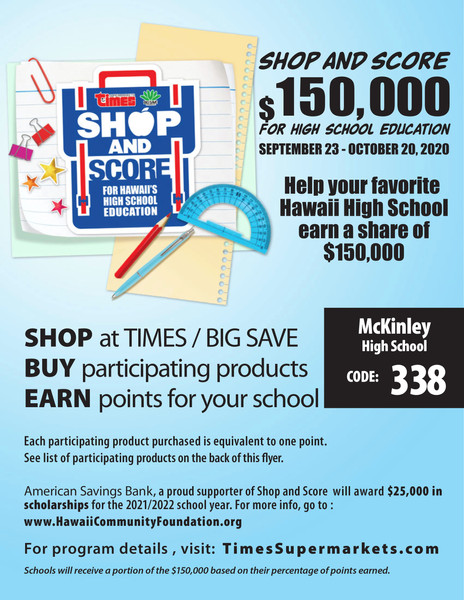 Times Shop And Score