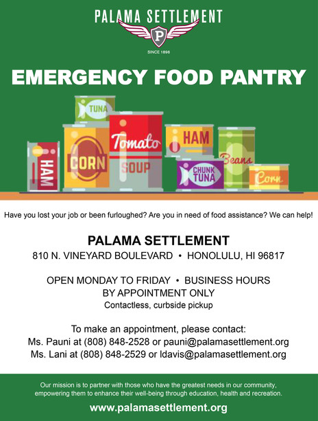 Emergency Food Pantry (Canned Goods)