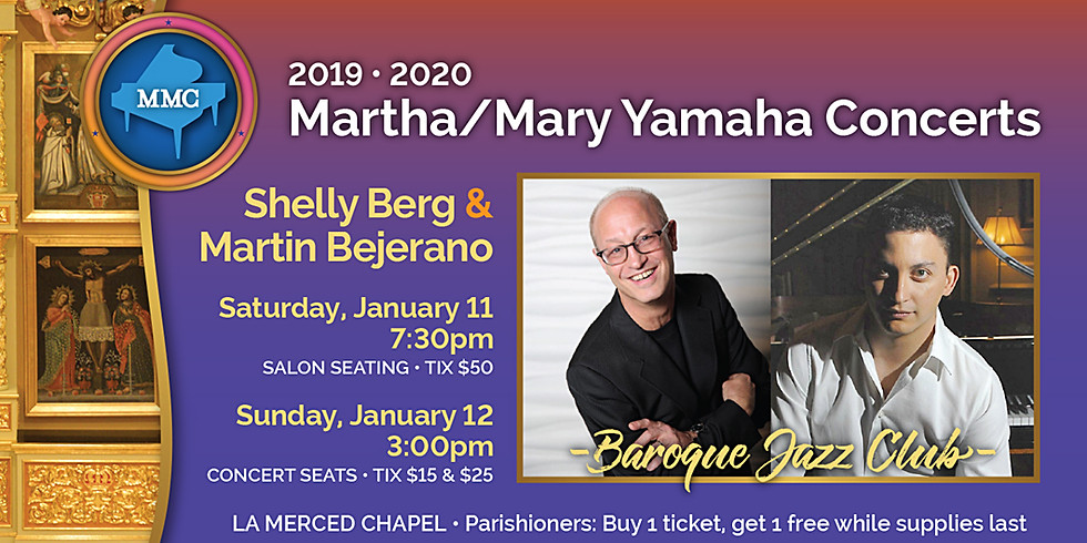 Shelly Berg & Martin Bejerano