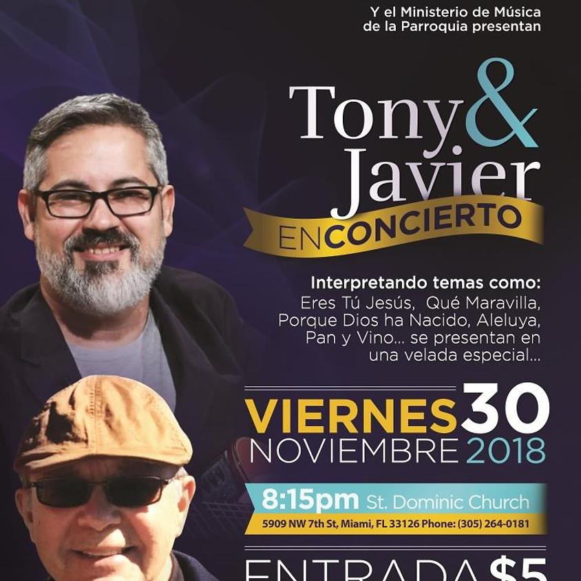 Tony y Javier en Concierto