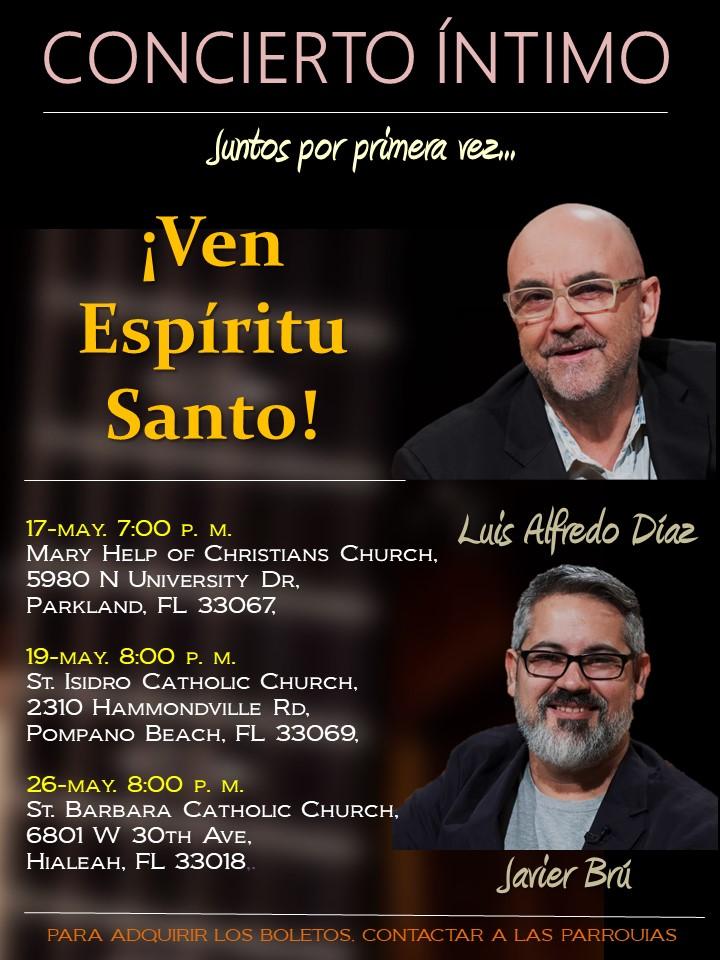 Afiche Concierto Luis Alfredo y Javier 2018 2