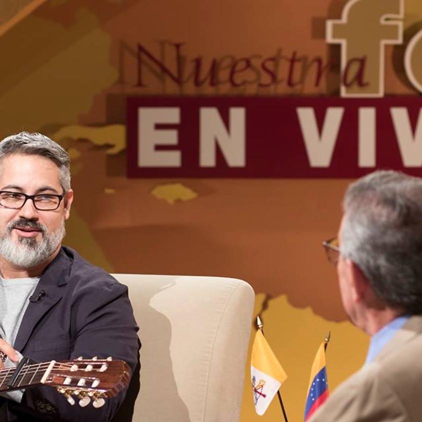 """Entrevista en """"Nuestra Fe en Vivo"""" con Pepe Alonso en EWTN"""