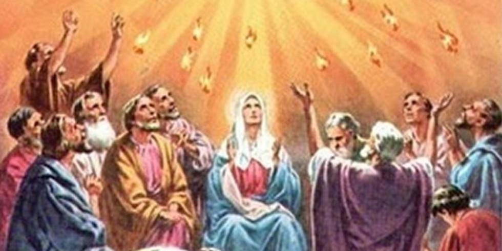 Pentecost Vigil   Vigilia de Pentecostés