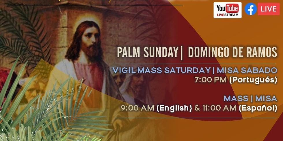 PALM SUNDAY MASS (English)