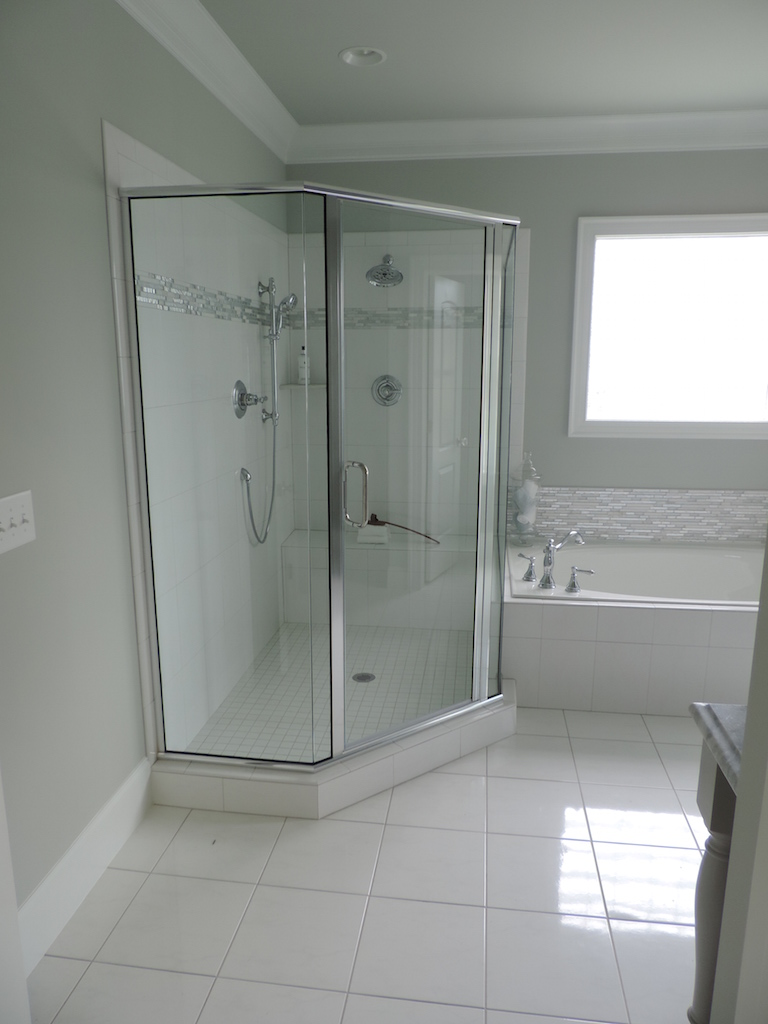 Semi-Frameless Shower Example55