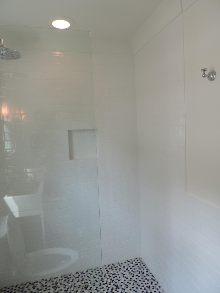Heavy Shower Panel with no Door