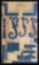 Vintage Shutter Hardware