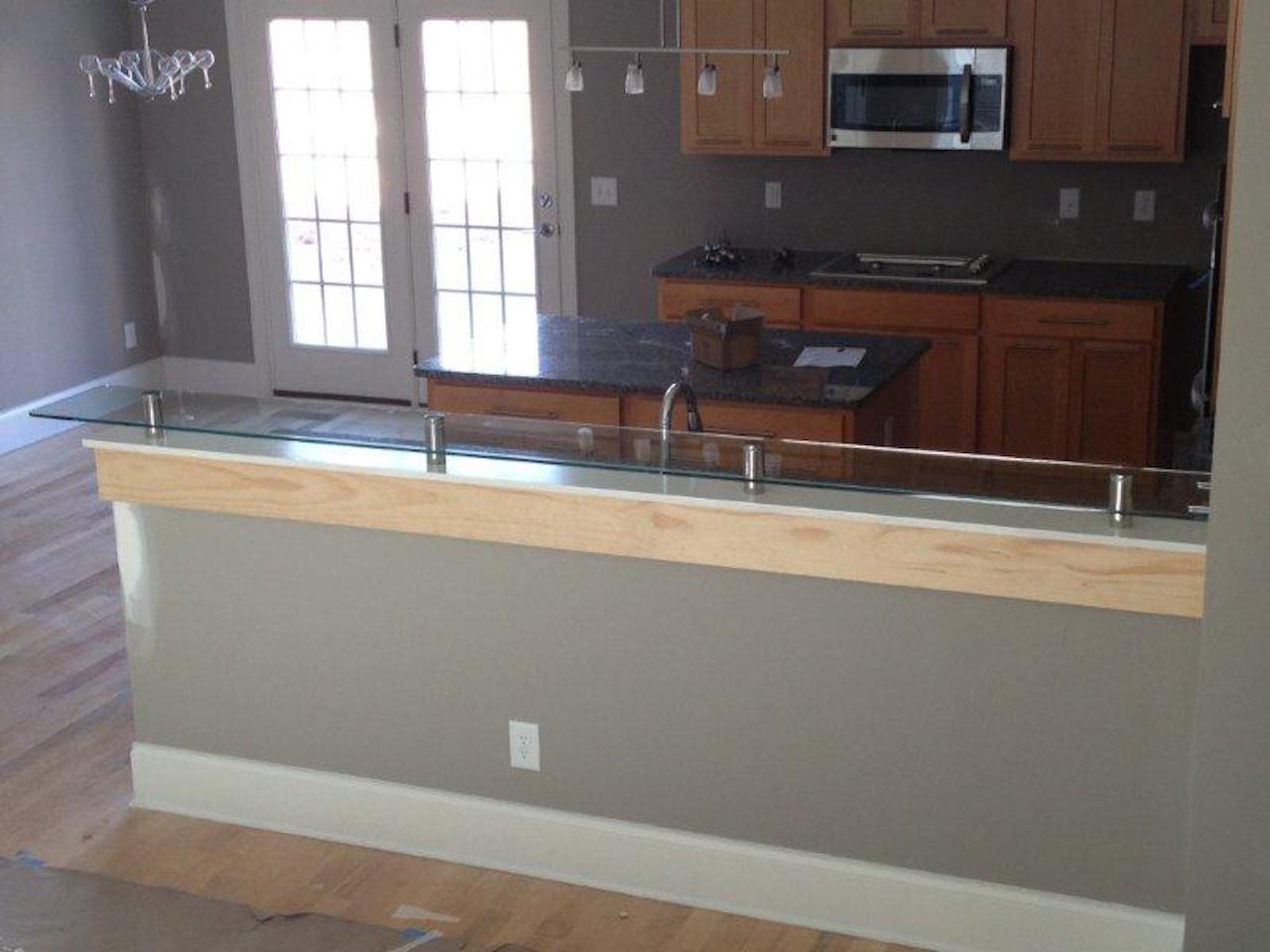 Glass Counter Top