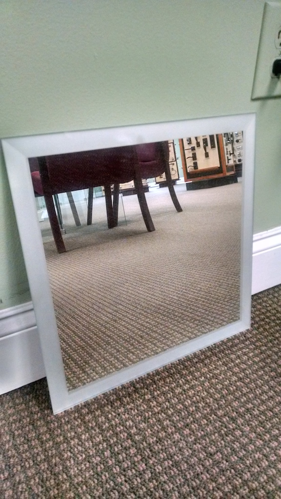 FROSTED BEVELED EDGE MIRROR