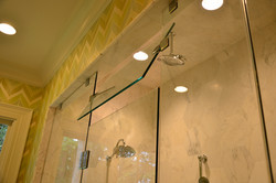Steam Shower with Transom
