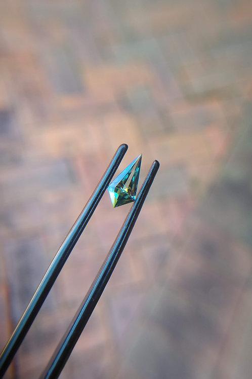 Blue Green Kite Sapphire