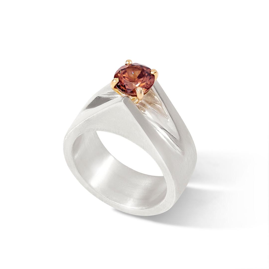 Samira Jafari Zircon Ring