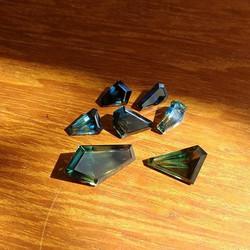 Freeform Cut Sapphires