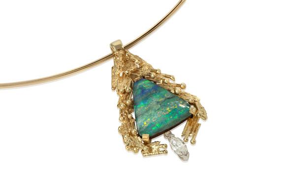 Boulder Opal Necklace