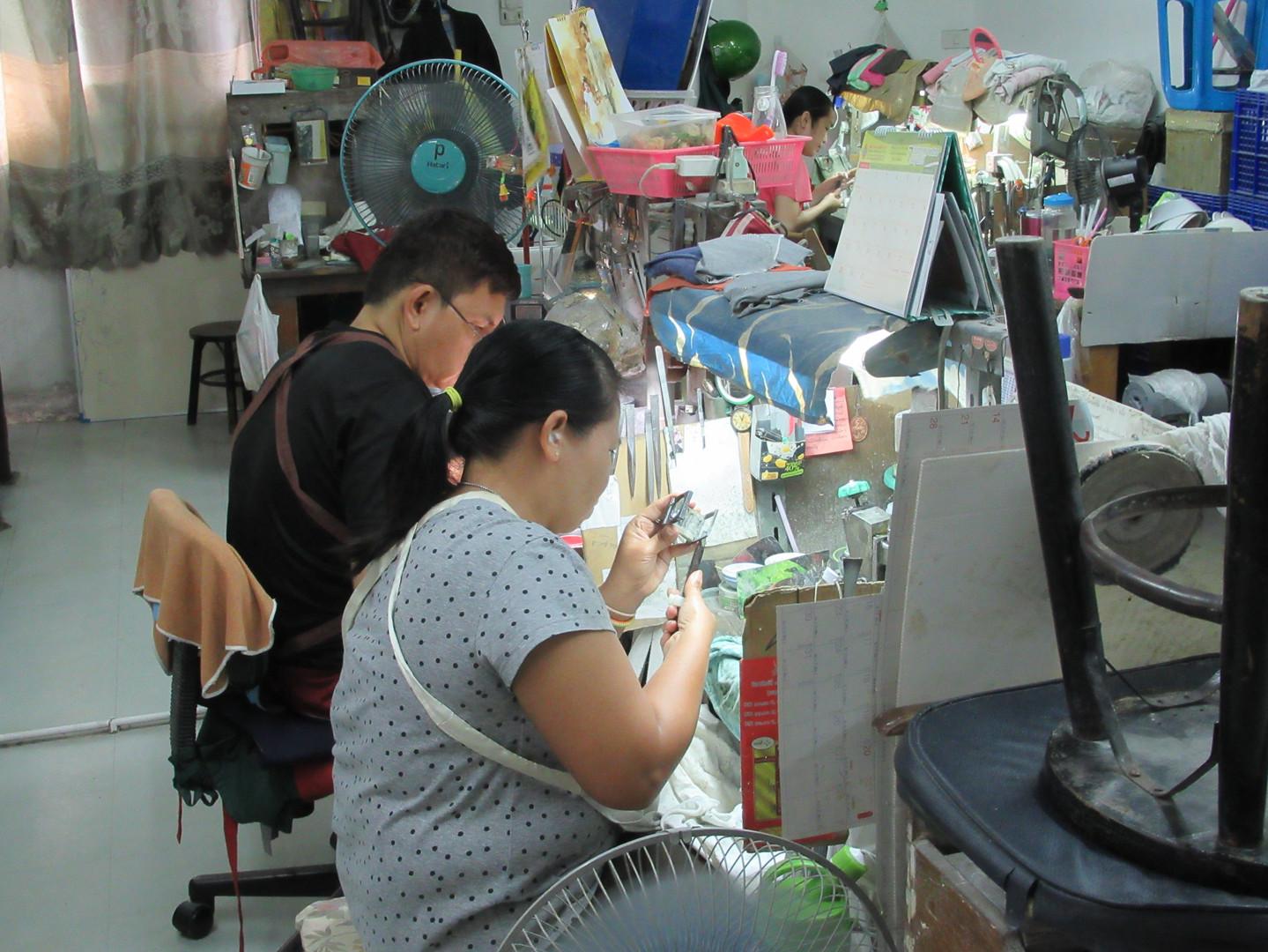 Cutting workshop in Bangkok