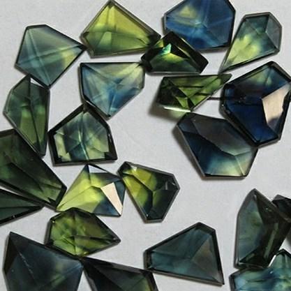 Freeform Cut Sapphire