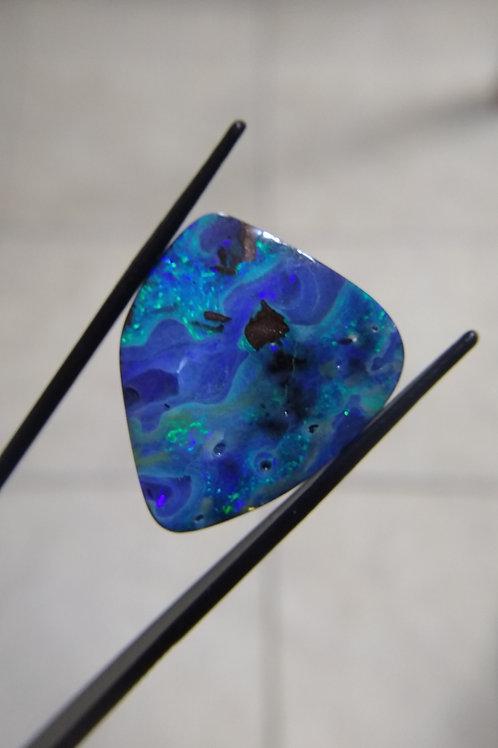 Freeform Oval Boulder Opal