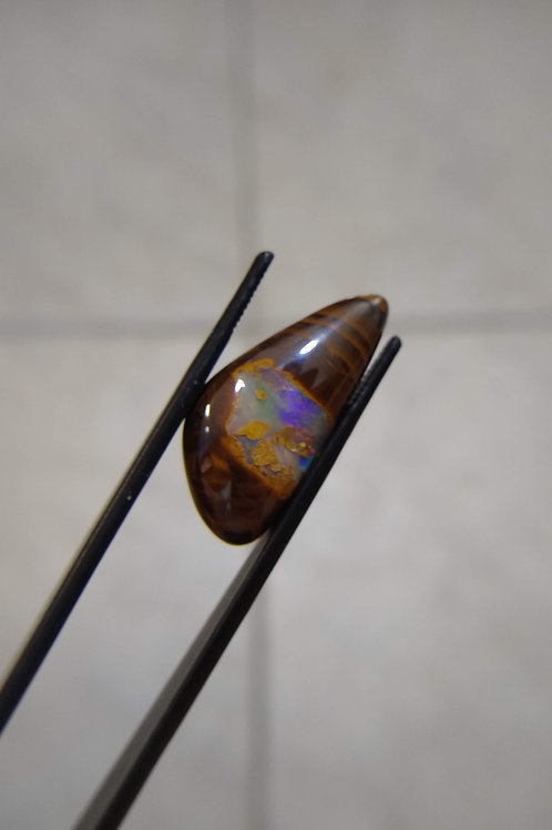 Yowah Ironstone Triangle Boulder Opal