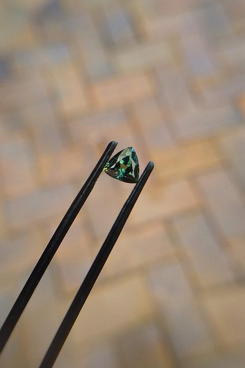 Blue Green Trilliant Sapphire