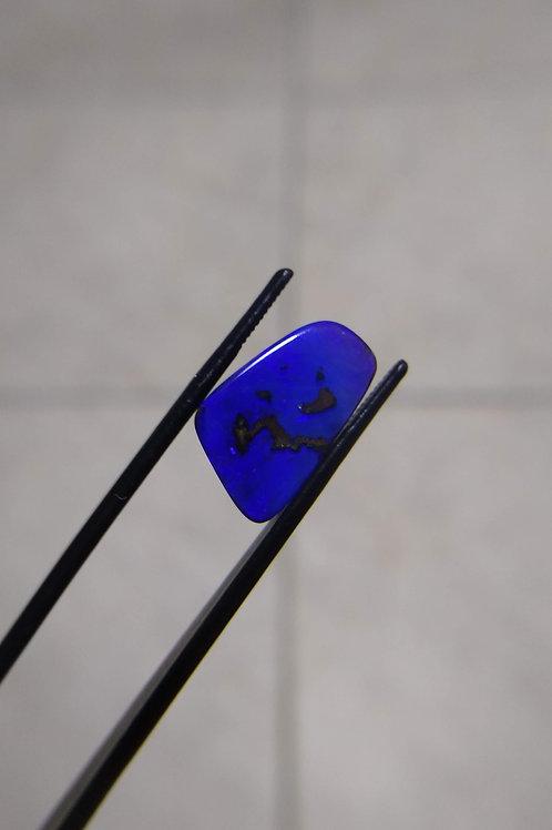 Blue Freeform Boulder Opal