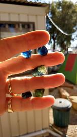 Threee beaut rough sapphires