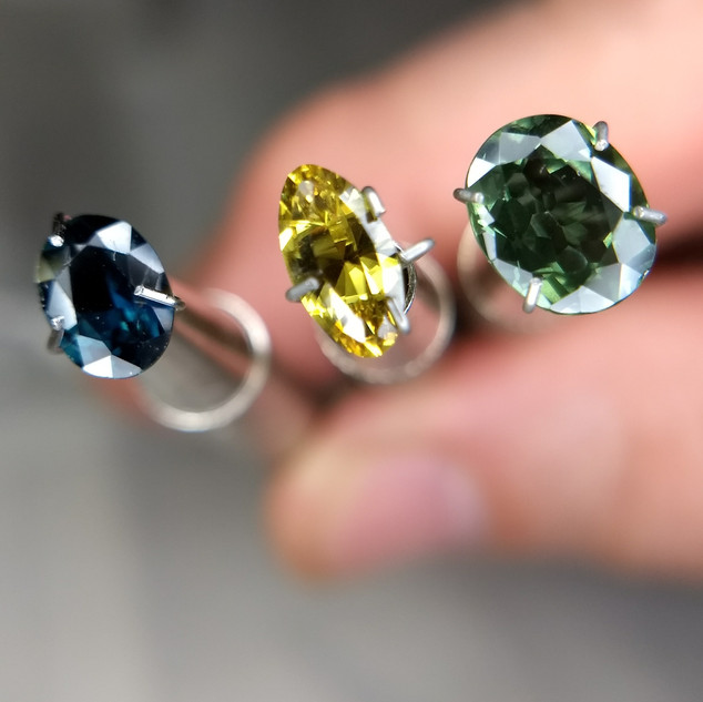 Selection of CQ Sapphires