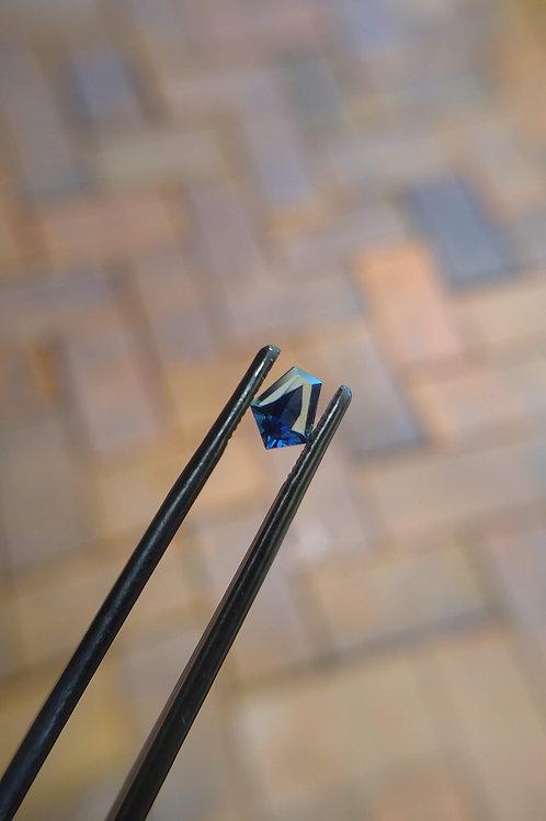 Blue Freeform Sapphire