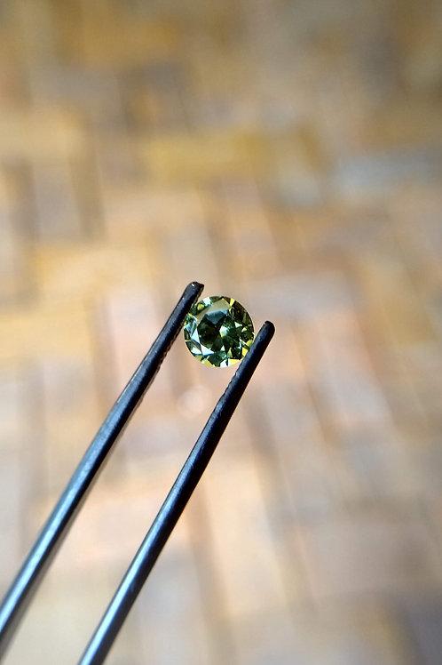 Green Yellow Brilliant Sapphire