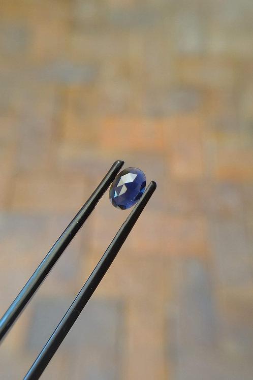 Blue Oval Rose Sapphire