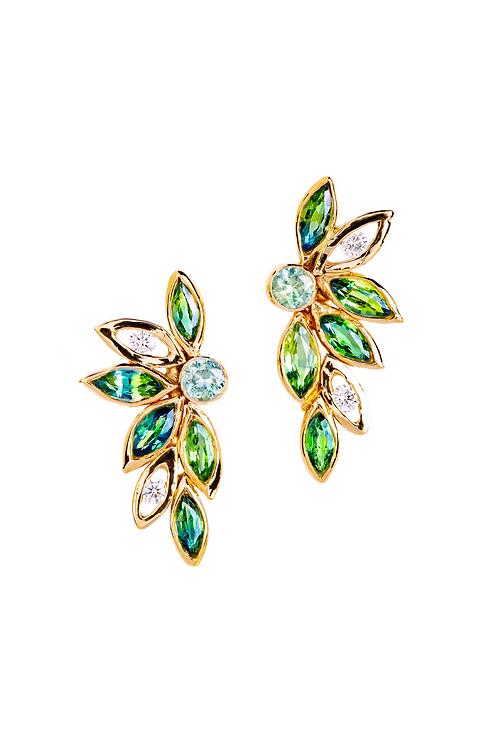 Sapphire Ear Pieces