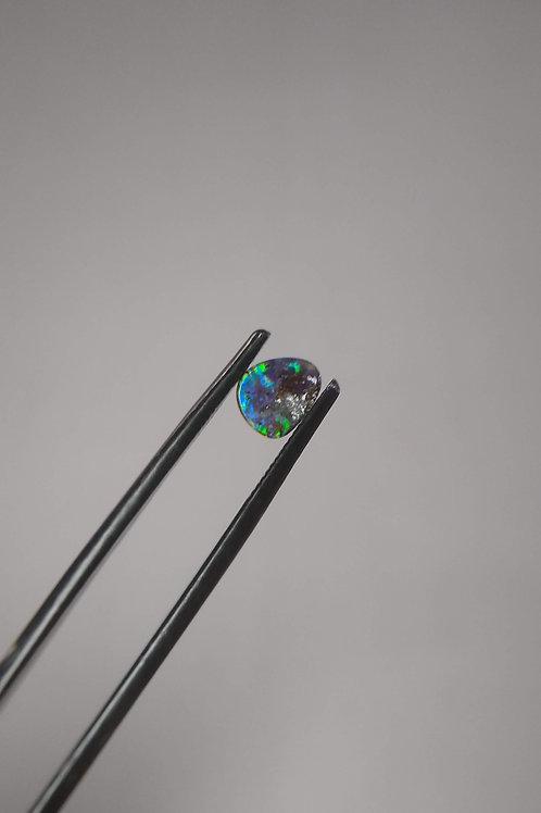 Multicoloured Freform Boulder Opal