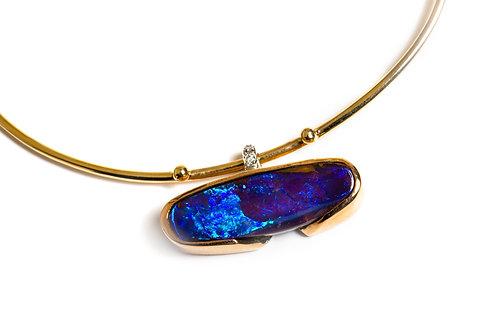 Solid Boulder Opal Bracelet
