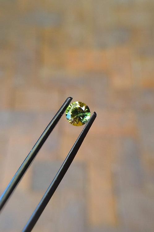Yellow/Green Brilliant Sapphire