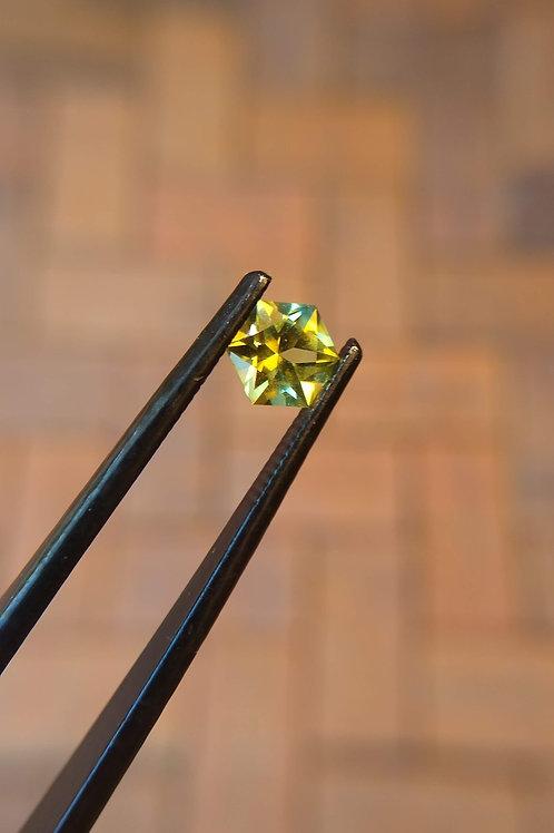 Yellow Hexagonal Sapphire