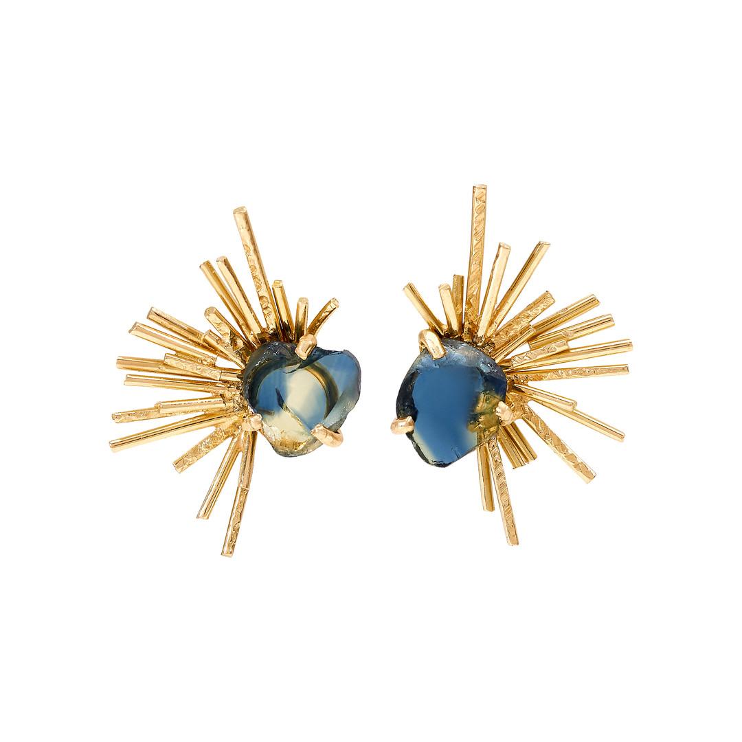 Samira Jafari Starburst Earrings