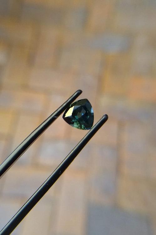 Green Trilliant Sapphire