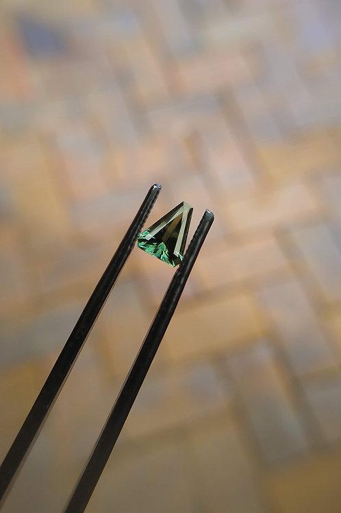 Green Freeform Sapphire